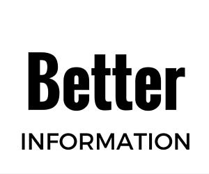 Better Information